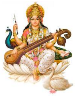 Sarasvati, Goddess of Music and Learning. It is Her music that does it.