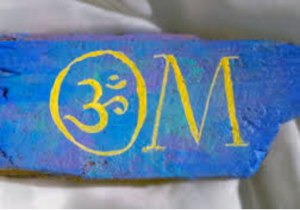OMkara, the sounding of OM