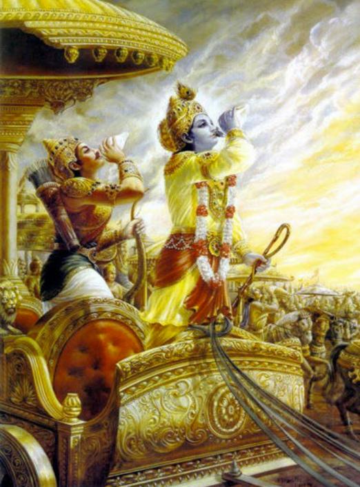 Krishna - Arjuna - Victorious