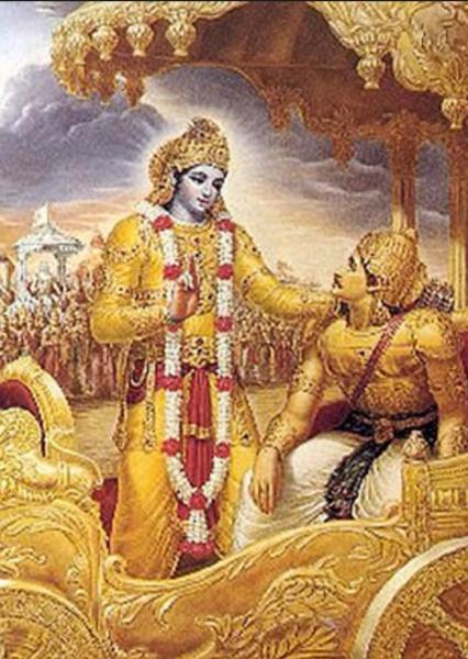 Krishna, the Silence of Secrests