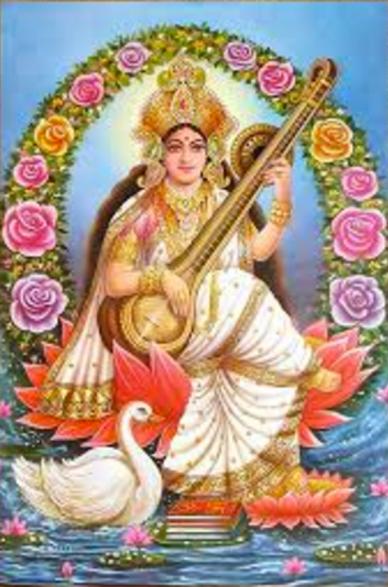 Sarasvati, Goddess of Music & Knowledge