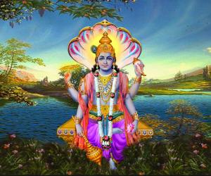 The Four Arms of Vishnu