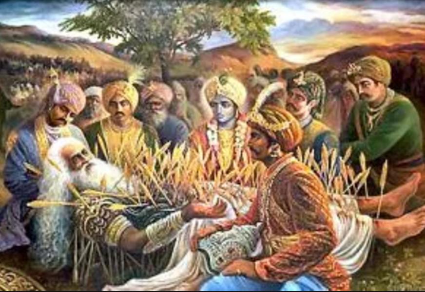 Bishma's Death by 1000 arrows