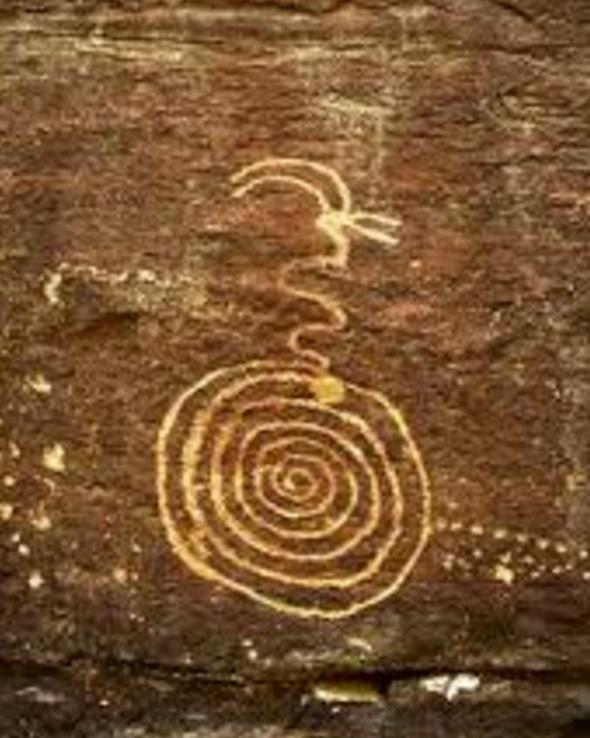 Spiral 12 - petroglyph