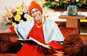 Swami Kripalu - teaching