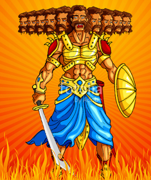 Ravana, demon king