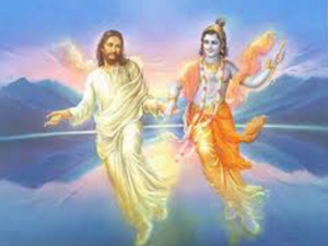 Jesus and Krishna in heaven
